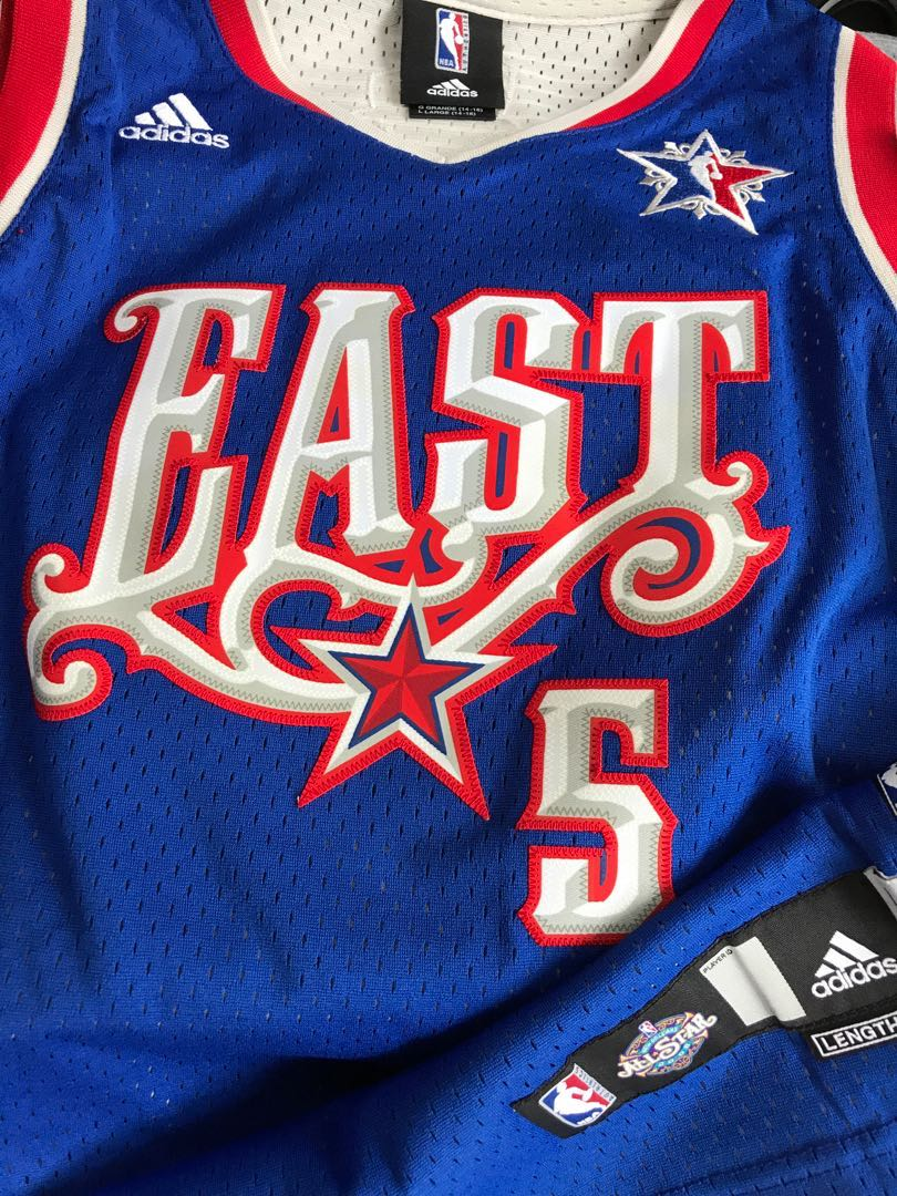 newest 8e7ba 34c62 Youth L All Star Jason Kidd Nets jersey NBA 波衫