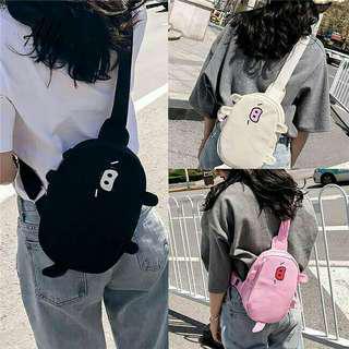 Pig chest bag