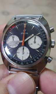 Vintage enicar v72 chronograph watch