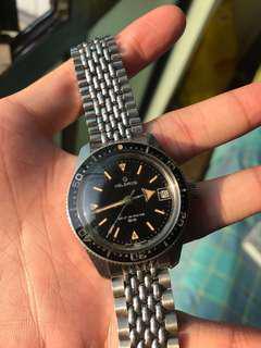 Vintage Helbros Diver