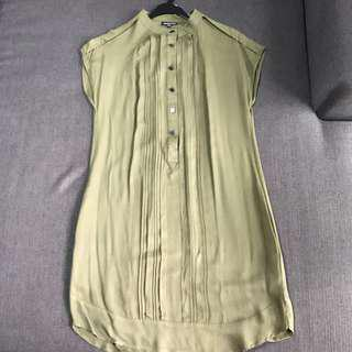 WAREHOUSE Khaki Dress For Cheap Sale