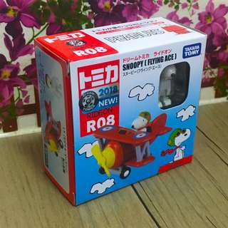 Dream Tomica R08 Snoopy Flying Ace 日版