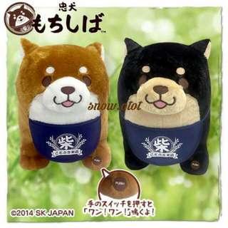 日版忠犬發聲公仔☆汪! 日本直送 Amuse/柴犬/shiba/dog/plush/cushion/soft toy/kids doll