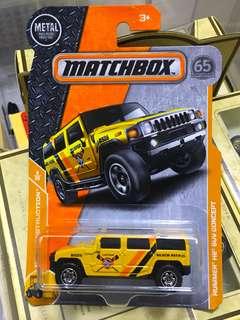 Matchbox Hummer H2 SUV Concept