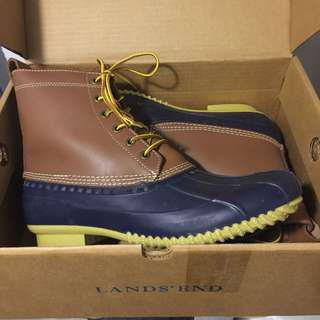 Land's End USA Waterproof Hunting Boots - US10 NEW