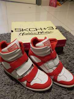 Authentic Skechers Hidden Wedge Shoes