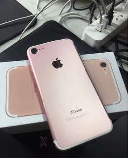 iPhone 7 128GB rose gold 99%new 100%work perfect condition