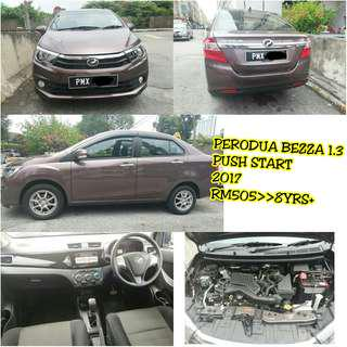 Perodua Bezza 1.3 Push Start