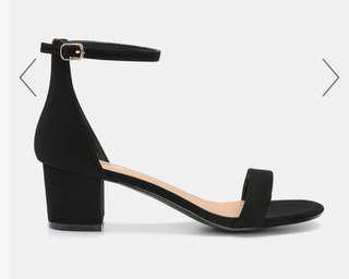 👠🖤Block Heel Sandals