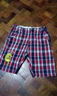 Cartoon Network Checkered Shorts