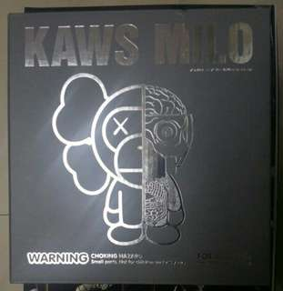 Kaws x Milo by bathing ape BAPE Grey 灰白色 COMPANION DISSECTED