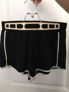 snap shorts f21