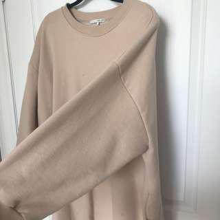 Oversized sweatshirt dress OAK AND FORT