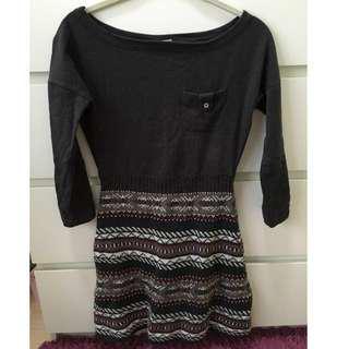 Pull & Bear Dark Grey Dress