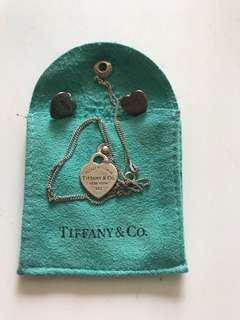 Tiffany & Co necklace and earrings (combo)