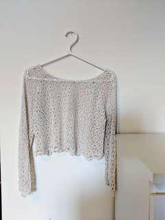 Crochet Top (Size Small)
