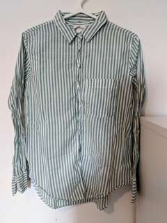 HM Striped Blouse (Size US 6)