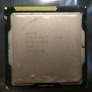 Intel i7 2600K Socket LGA1155 Processor