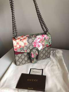 Authentic Dionysus GG Blooms mini bag