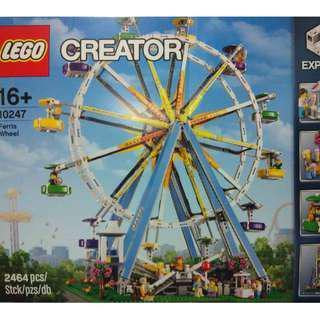 MISB Lego 10247 Creator Ferris Wheel Building Toy - 2464 pieces (NEAREST MRT)