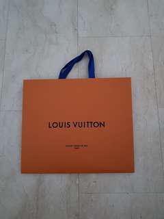 Authenic Louis Vuitton Paper bag