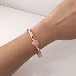 Mimco rose gold iconic bracelet bangle