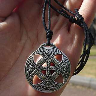 傳繩結魔法吊墜護身符