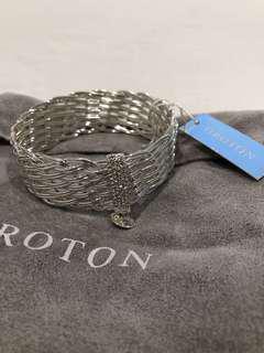 Oroton silver bracelet