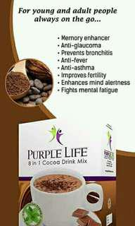 8 in 1 cocoa drink mix coffee