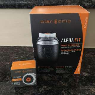 NEW Clarisonic Alpha Fit Sonic Cleansing Set (+ EXTRA brush!)