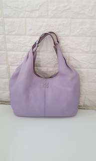 Auth Coach Lilac Large Hobo Bag michael kors kate spade