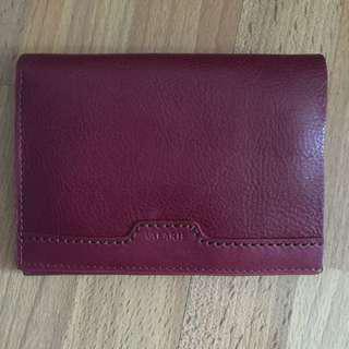 《全新》Leather Wallet 真皮銀包