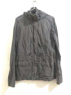 Jewels Gray Jacket with Hood