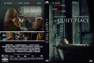 A quiet place dvd brand new watched once