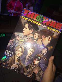 EXO THE WAR: THE POWER OF MUSIC ALBUM