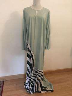 Batik Kaftan Dress