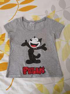 felix the cat tee