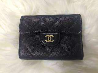 Chanel card holder back pocket