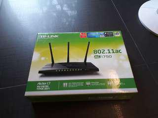 TP-Link dual-band wireless router, Archer C7 AC1750