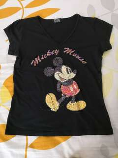 D & G mickey mouse tee