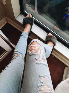 Abercrombie Mid Rise Skinny Jeans