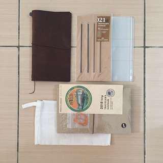 Midori Traveler's Notebook Leather Cover #WinIkea
