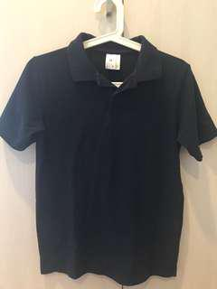 Target Blue Polo T age 14