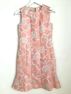 Marni Pink Floral Dress