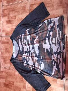 Gtw camouflage croptop