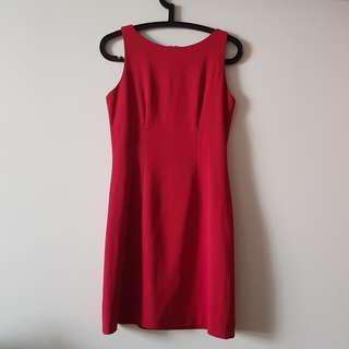 Seed Red Dress