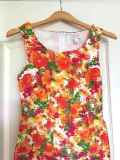 REDUCED: F21 Floral Print Shift Dress
