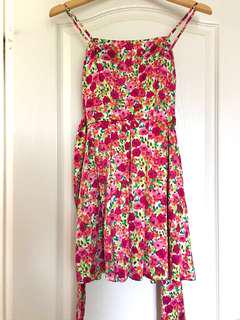 REDUCED: F21 Floral Fit and Flare Mini Dress