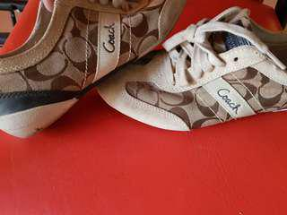 Coach baylee sneakers size 7