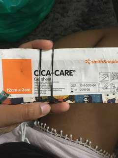 Cica Care Gel Pad 1x1 inch